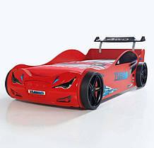 Кровать-машинка Суперкар красная Турция