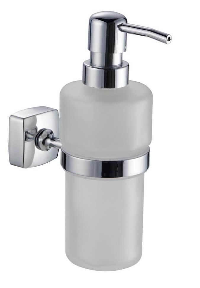 Дозатор жидкого мыла Trento Moderno серый (Италия)