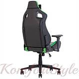 Крісло геймерське Hexter (Хекстер) PRO 01 чорний/зелений, фото 2