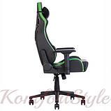 Кресло геймерское Hexter (Хекстер) PRO 01 черный/зеленый, фото 3