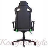 Крісло геймерське Hexter (Хекстер) PRO 01 чорний/зелений, фото 5
