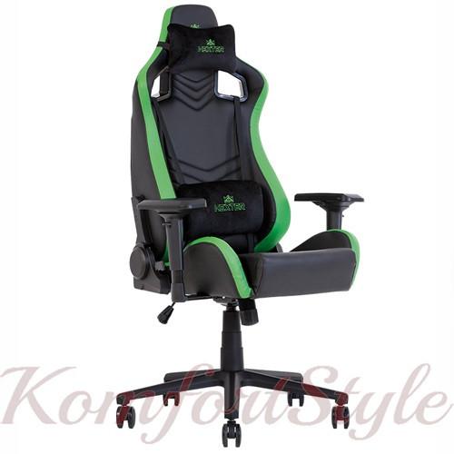 Крісло геймерське Hexter (Хекстер) PRO 01 чорний/зелений