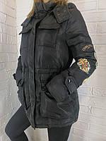 Куртка женская MissFofo черная