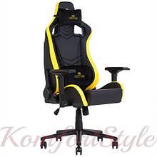 Кресло геймерское Hexter (Хекстер) PRO  01 черный/желтый