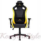Кресло геймерское Hexter (Хекстер) PRO  01 черный/желтый, фото 2