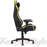 Кресло геймерское Hexter (Хекстер) PRO  01 черный/желтый, фото 3