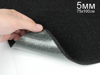 StP битопласт А 5К - антискрипный, звукопоглощаощий материал, лист 75х100см, толщина 5мм