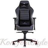 Кресло геймерское Hexter (Хекстер) XL R4D MPD MB70 01 черный/серый, фото 2
