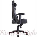 Кресло геймерское Hexter (Хекстер) XL R4D MPD MB70 01 черный/серый, фото 4