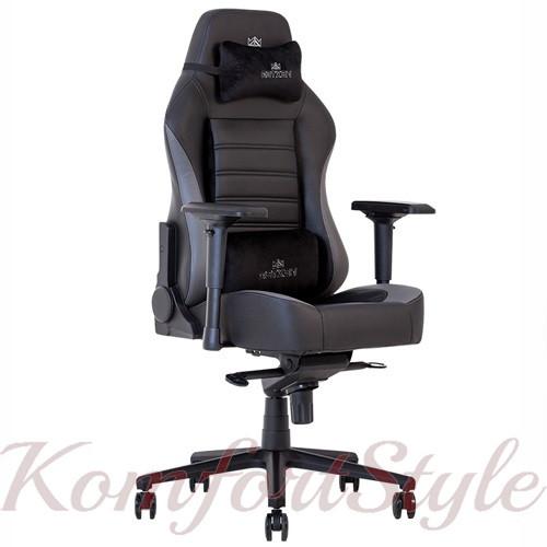 Кресло геймерское Hexter (Хекстер) XL R4D MPD MB70 01 черный/серый