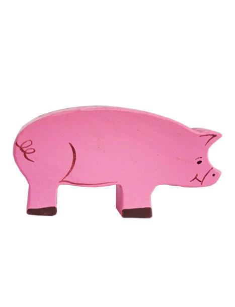 Фигурка HEGA Свинка цветная