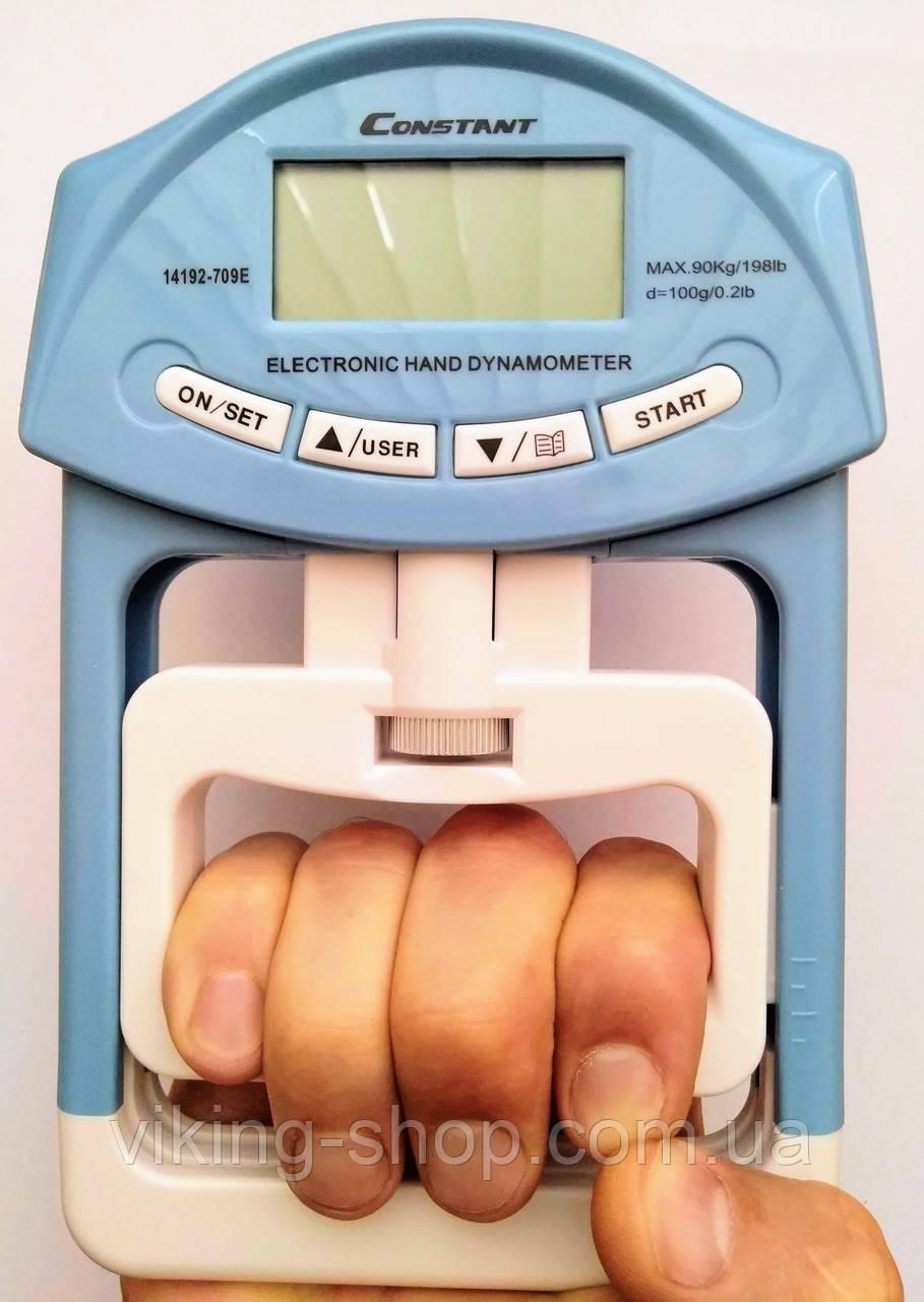 Кистевой Силомер до 90 кг. Электронный динамометр