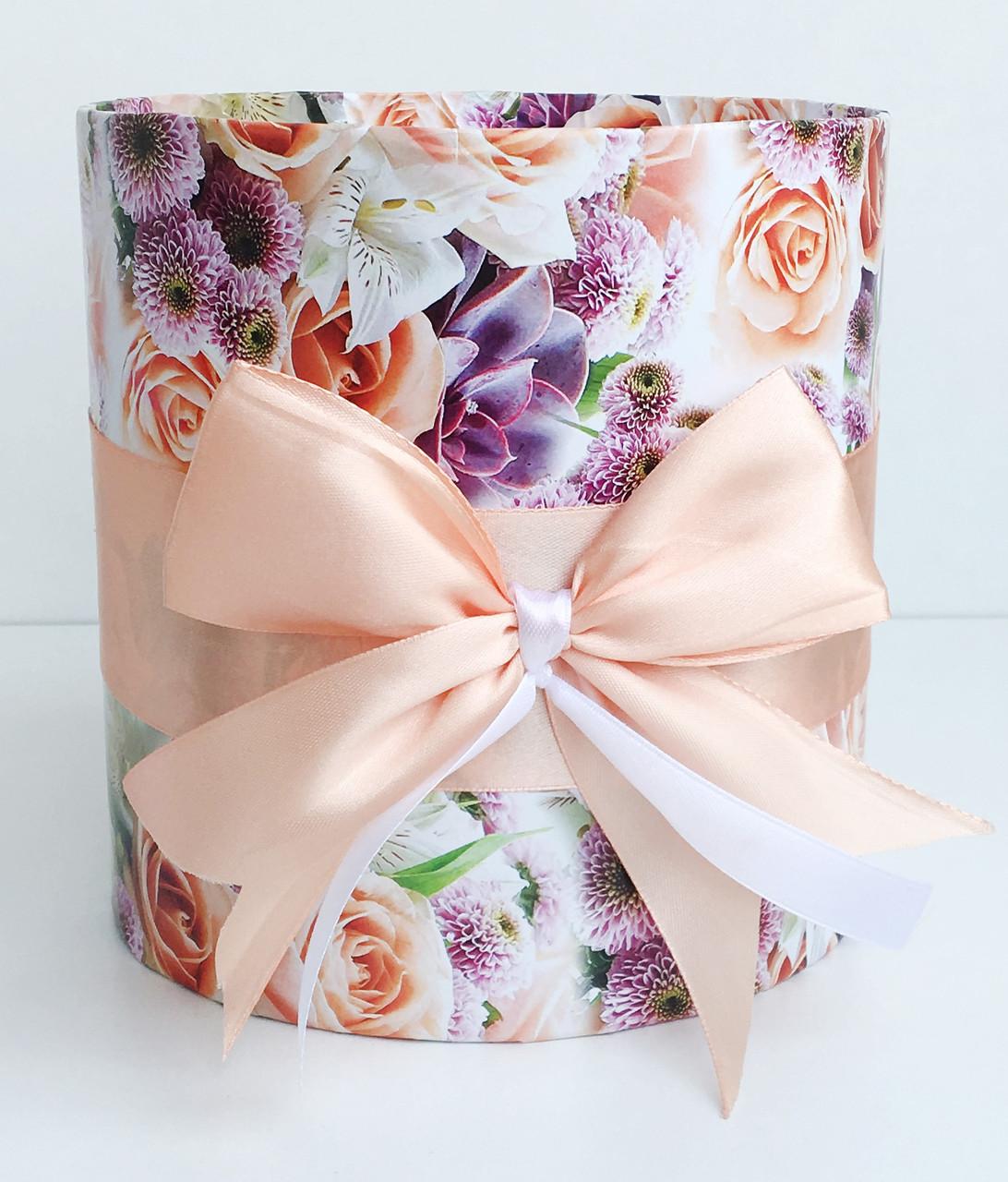 Коробка подарочная #216 для цветов (16 х 16 см)