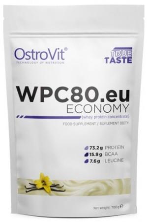 Сывороточный протеин OstroVit - WPC80.eu ECONOMY (700 грамм) ваниль