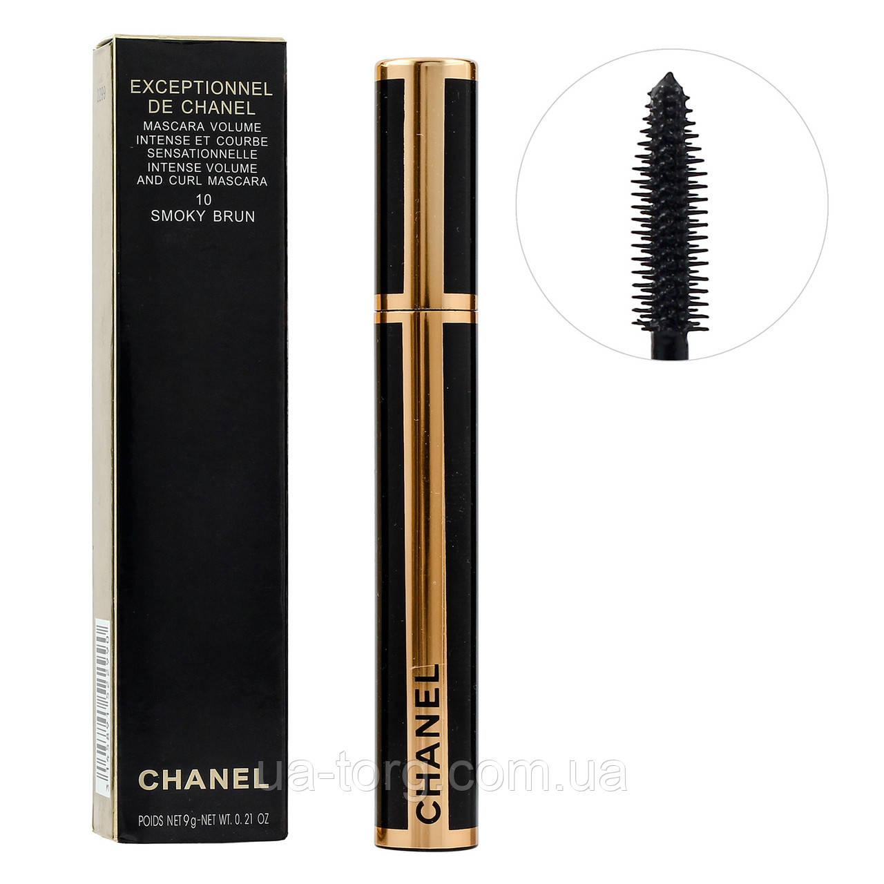 Тушь для ресниц Chanel Exceptionnel De Chanel 10 Smoky Brun