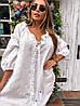Платье Doratti красивое нежное прошва свободный крой мини Smdor3665