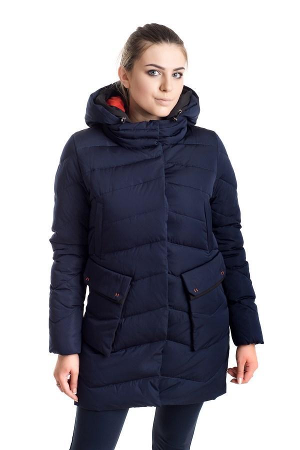 Зимняя куртка Хизер синий (42-50)