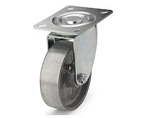 Колеса алюминиевые диаметр 100 мм с поворотным кронштейном