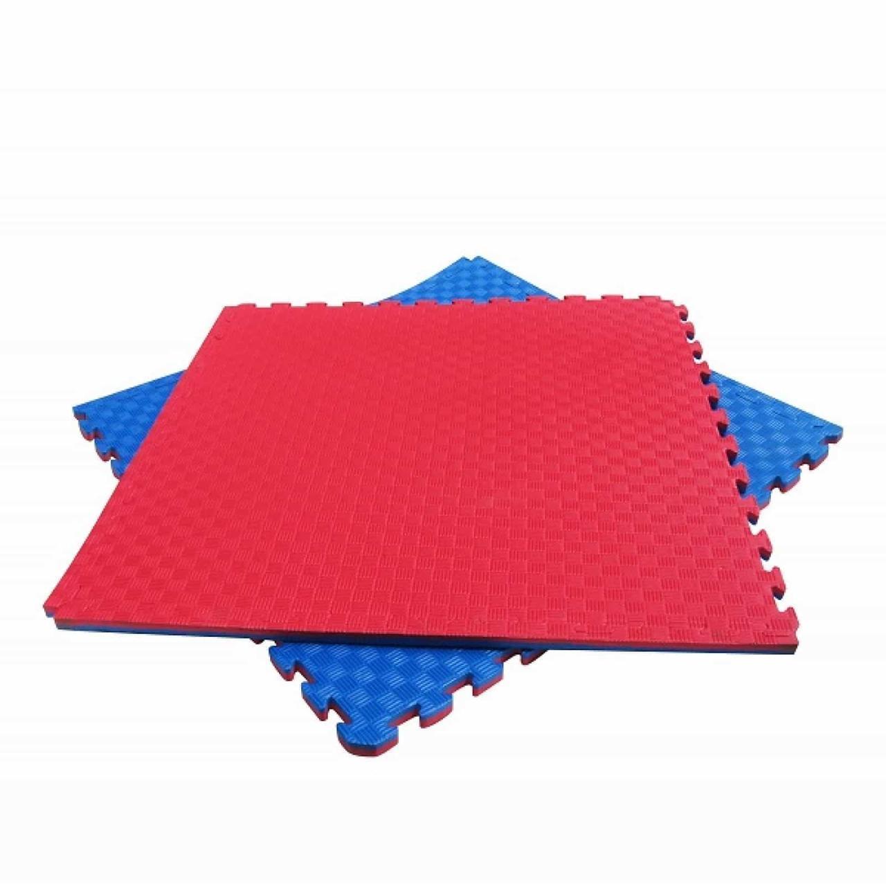 Татами (будо-мат, Даянг) 26мм красный синий