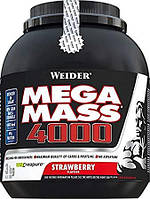 Гейнер WEIDER NEW FORMULA MEGA MASS 4000 3 kg Strawberry