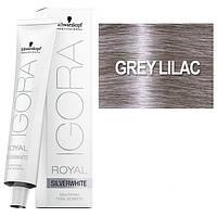 Grey Lilac - Краска для волос Schwarzkopf Professional Igora Royal Absolutes Silverwhite -Холодная Сирень 60мл