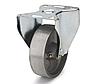 Колеса алюминиевые диаметр 100 мм с неповоротным кронштейном
