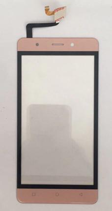 Сенсор (тачскрин) для Blackview Aelion i5 розовый Оригинал, фото 2