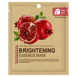 Тканевая Маска Гранат Тонизирующая Mijin Essence Mask Pomegranate