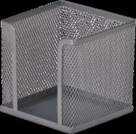 Бокс для бумаги Buromax Jobmax металлический серебристый