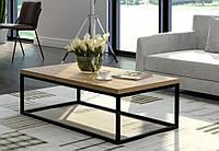 Кофейный Журнальный столик LNK - LOFT  rectangular Big (400*1200*640), фото 1