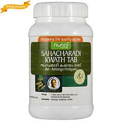 Сахачаради кватх (Sahacharadi kwath, Nupal Remedies), 100 пігулок - Аюрведа преміум якості