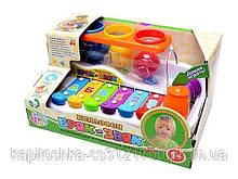 Развивающая игрушка ксилофон. Обучающие мелодии. Для детей с 1-го года. Limo Toy