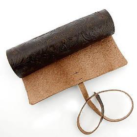 Дорожній чохол для класичної бритви з натуральної шкіри 01161