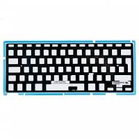 Подсветка клавиатуры для ноутбука Apple MacBook Pro A1297 big enter RU черная бу