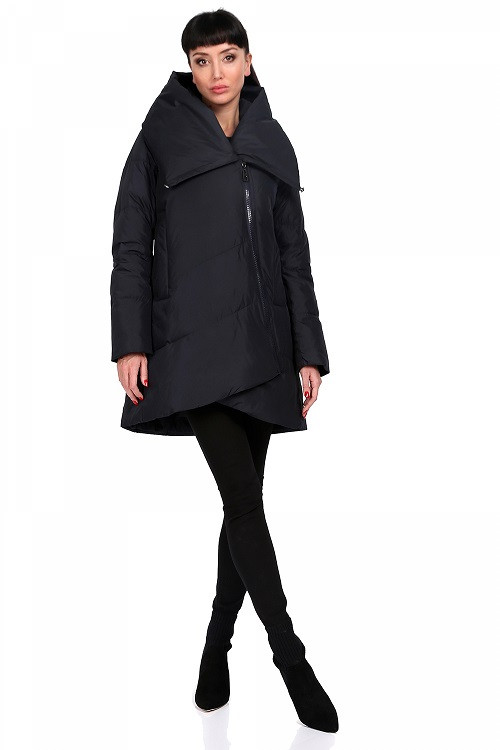 Зимняя куртка Роза темно-синий (42-48)
