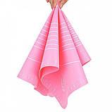 Силиконовый антипригарный коврик для выпечки и раскатки теста 50x40 см 2Life Розовый (n-326), фото 3