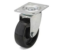 Колеса из фенольной смолы диаметр 100 мм с поворотным кронштейном