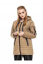 Молодежная куртка осень-весна Астара оливковый  (44-54)