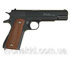 Детский игрушечный пистолет для стайкбола с пульками и кобурой  G.13+  (Colt M1911 Classic), фото 2