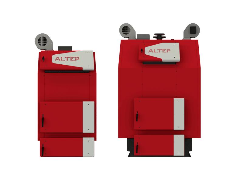 Котел твердотопливный Альтеп TRIO UNI PLUS 400 кВт