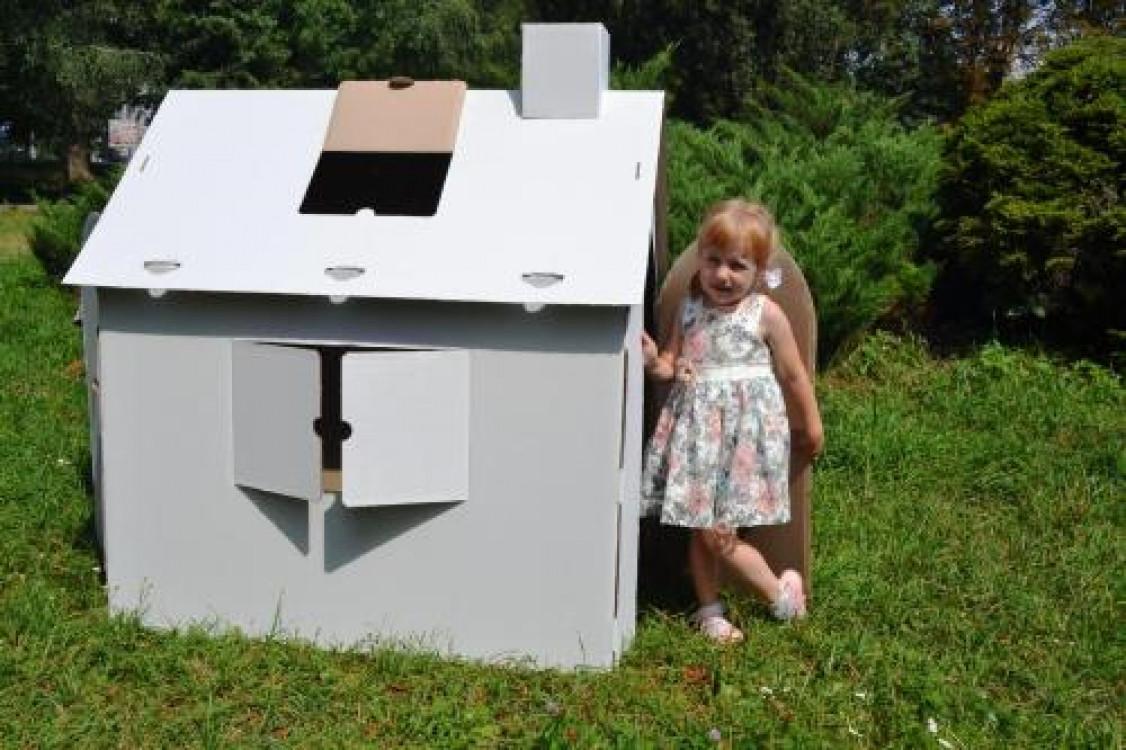 Картонный домик раскраска