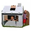 Картонный домик раскраска, фото 3