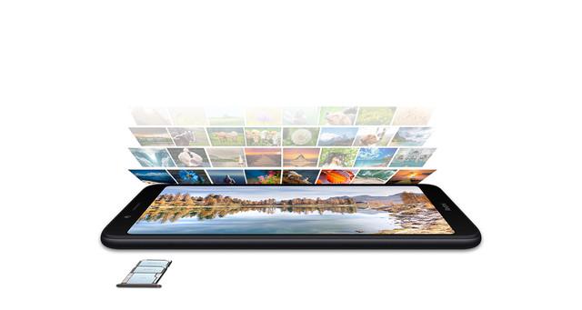 Xiaomi Redmi 7A 2 Светодиодная Отсутствует Поддержка USB-host Фонарик Датчик приближения Гироскоп освещенности Компас Несъемный до 256 Гб Пластик Android microSD