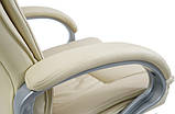 Кресло Калифорния Хром  Кожзам Беж, фото 5