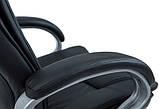 Кресло Калифорния Хром Кожзам Черный, фото 5