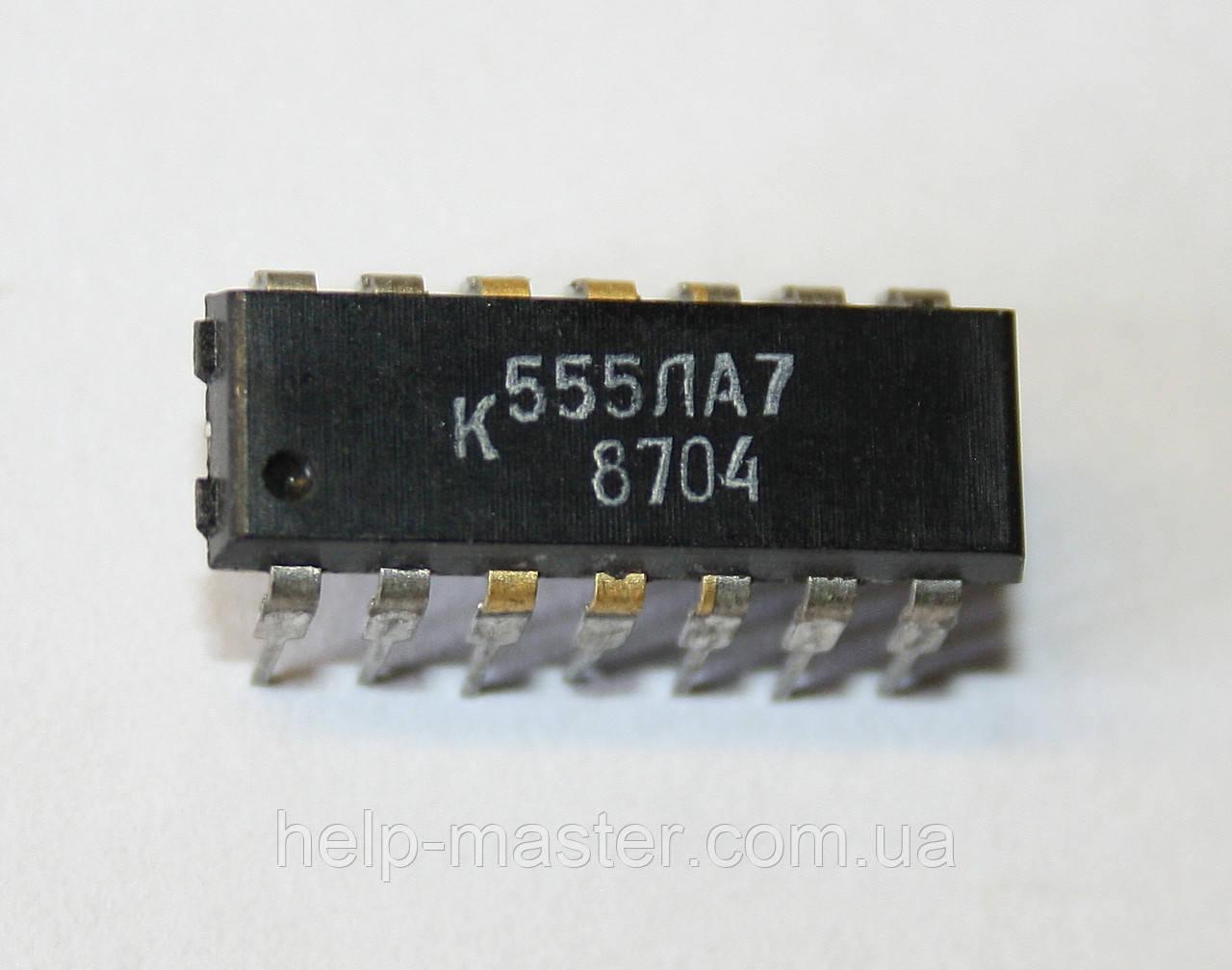 Мікросхема К555ЛА7 (DIP-14)