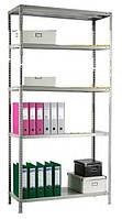 Стеллаж металлический модульный  MS 200KD/100-30  1850(в)х1000(д)х300(г)