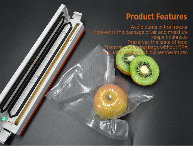 Пакеты-рулоны Tinton Life для вакууматора 25*500 см