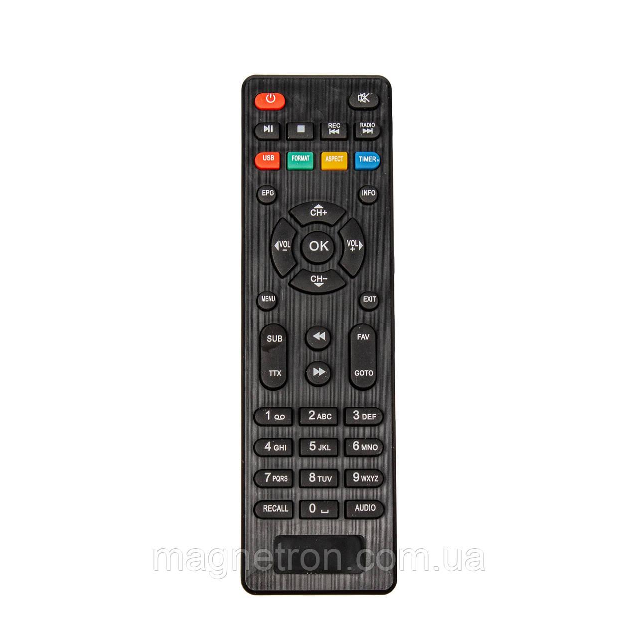 Пульт ДУ для DVB-T2 Romsat T8020HD (HQ)