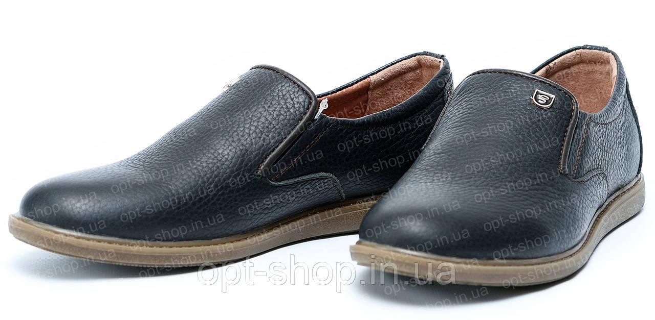 Туфли детские кожаные для мальчика